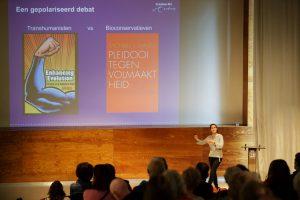 Wie is er bang voor de perfecte mens - Lezing Kunsthal Rotterdam